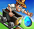Games at Miniclip.com - Rail Rush Worlds