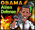 Games by Miniclip - Obama Alien Defense