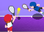 Flash Tennis Game