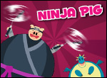 Play Ninja PIG and test your ninja reflexes.