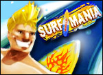 Surfmania: Collect stars!  Game