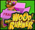 Wood Runner - Racing with exploding bridges and Weapons, Cartoon Style